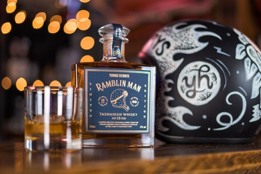Ramblin Man is Young Henrys Take on Tasmanian Whisky