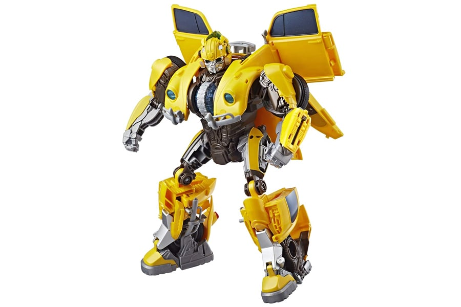 power charge bumblebee action figure