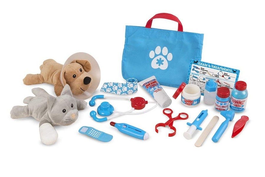 melissa & doug examine and treat pet