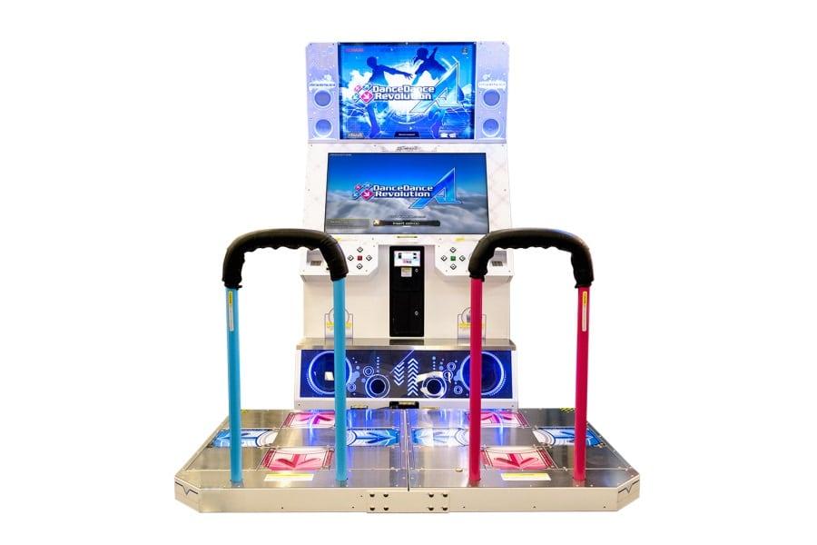 dance dance revolution arcade game