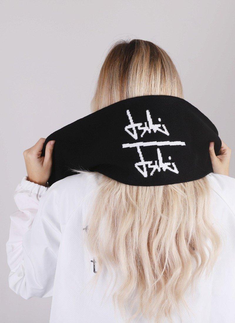 felix black scarf back