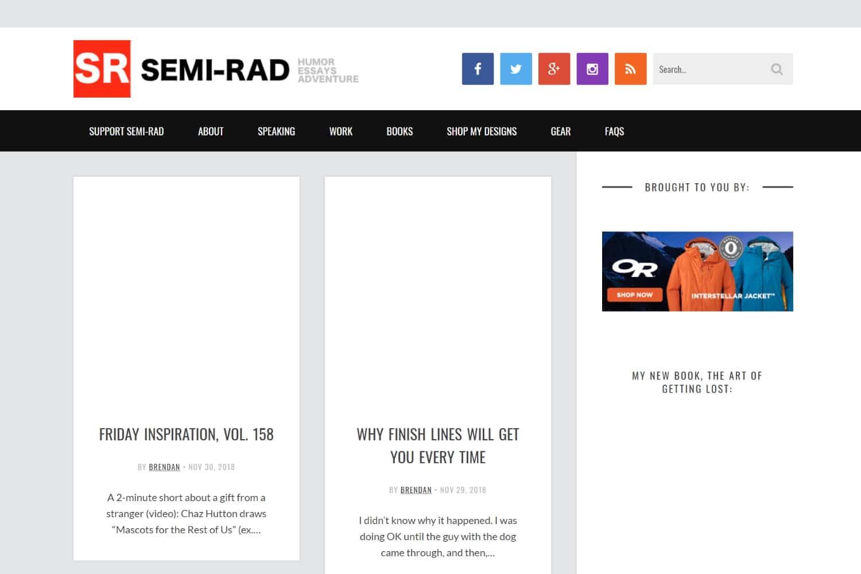 semi rad blog