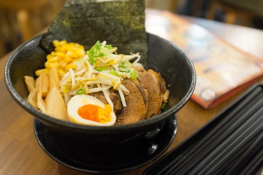 bowl of mr ramen san ramen