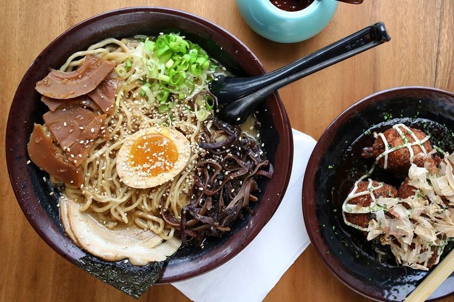 fukuryu ramen and takoyaki