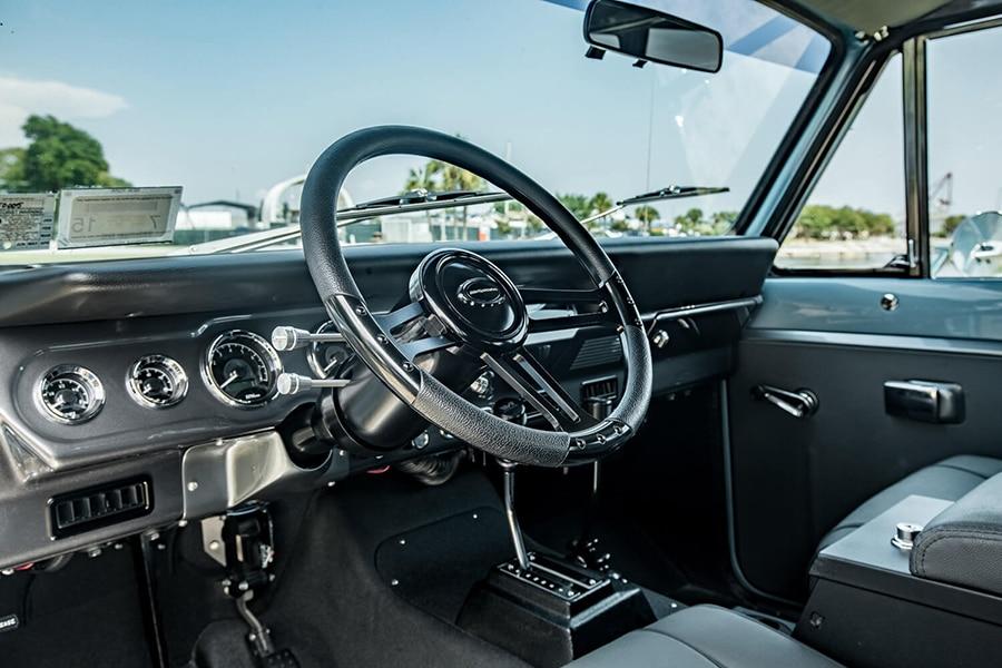 steering wheel international scout vehicle