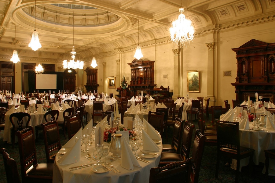the australian club ball room