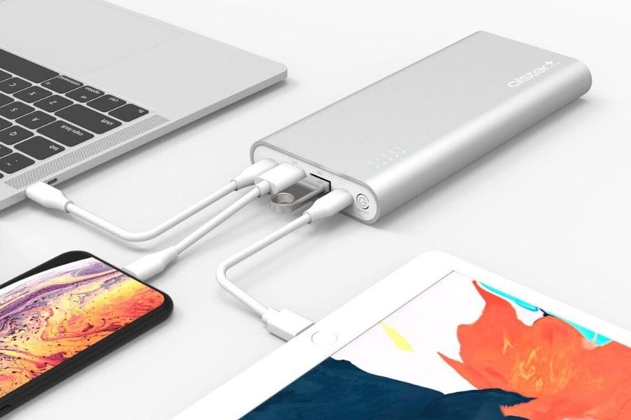 alsterplus usb c battery pack hub