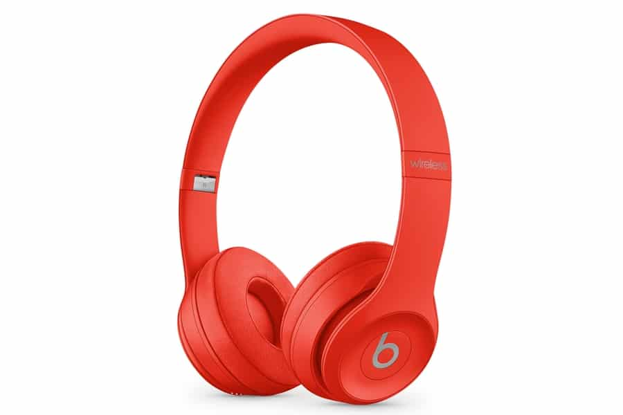 apple beats solo3 product red