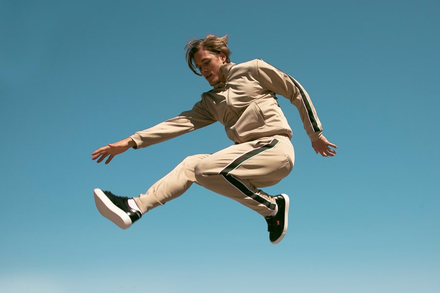 atlantis sustainable shoe jump