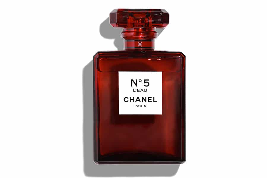 chanel limited edition no.5 perfume