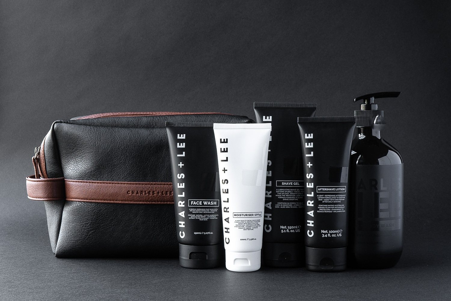 WIN One of Five Complete Charles + Lee Skincare Gift Packs