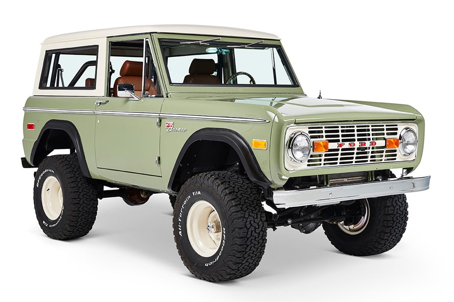 Ford Bronco Coyote Restoration Silicon Valley Modernizes a ...