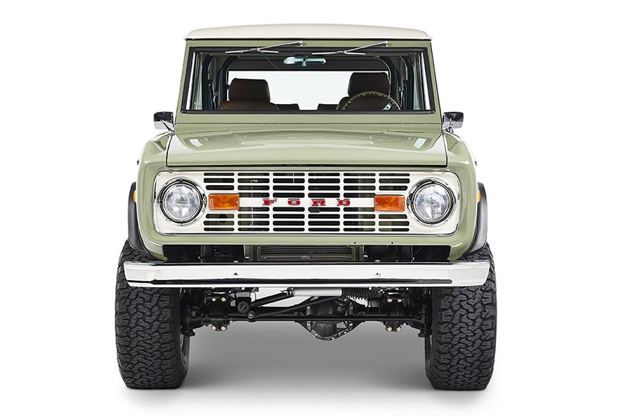 front ford bronco