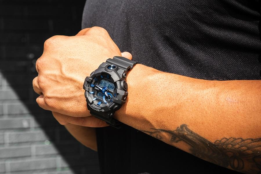 g-shock ga710b-1a2 watch lifestyle
