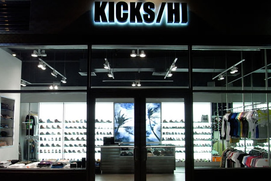 kicks hawaii shoe shop