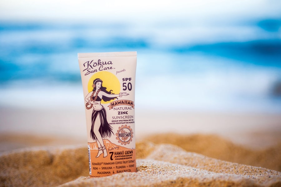 kokua sun block cream