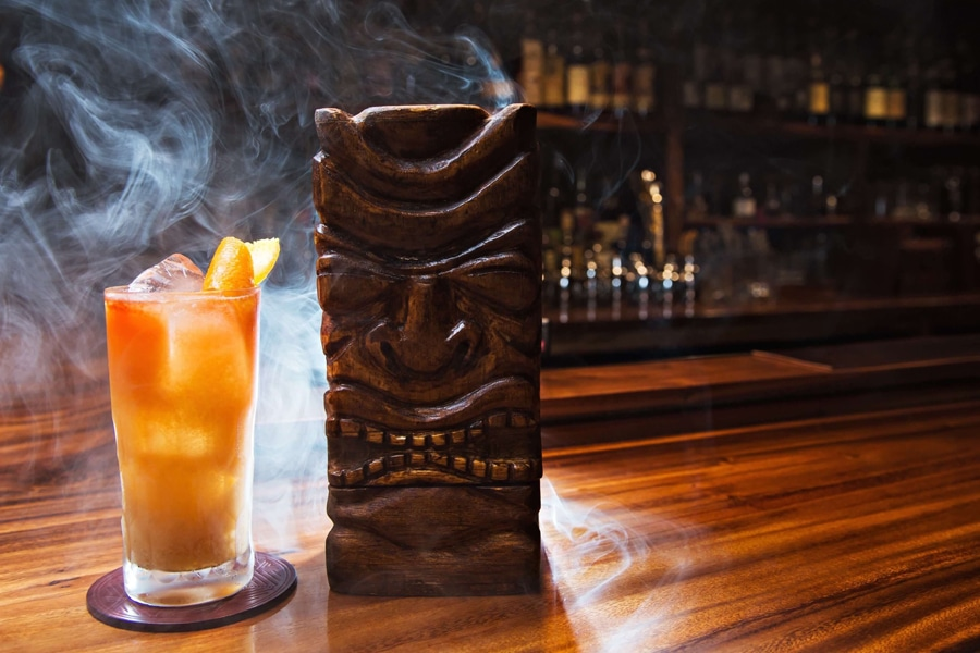 leather apron tiki drinks honolulu