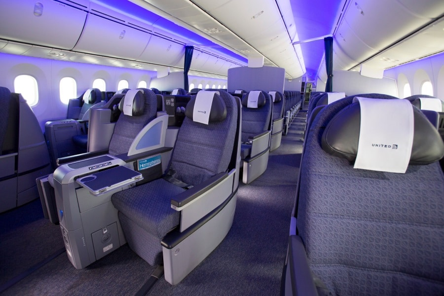 dreamliner polaris business class seats