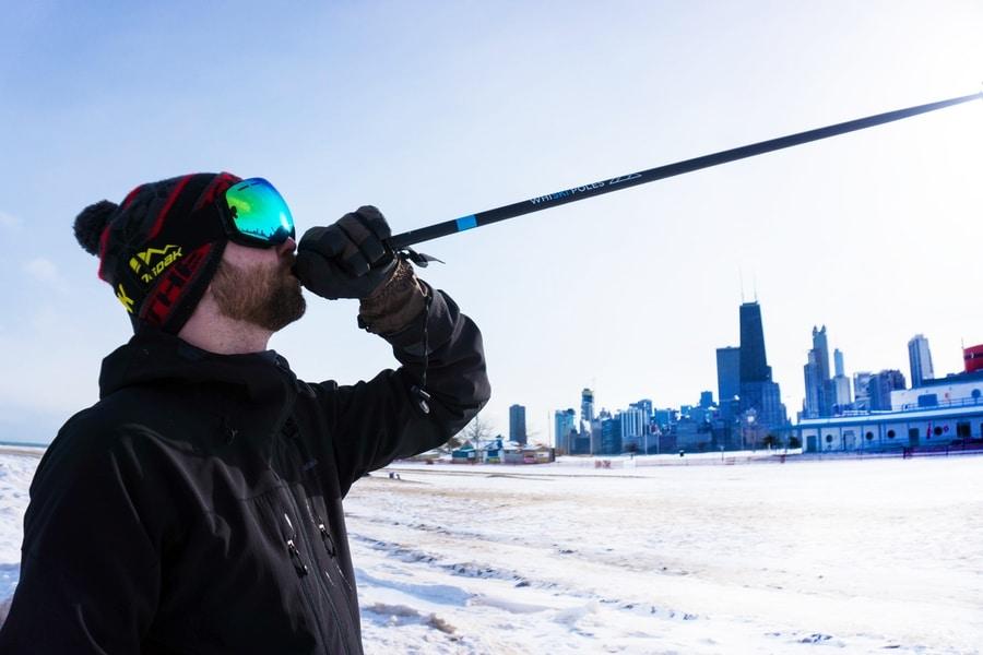 whiski poles 2.0 are ski poles