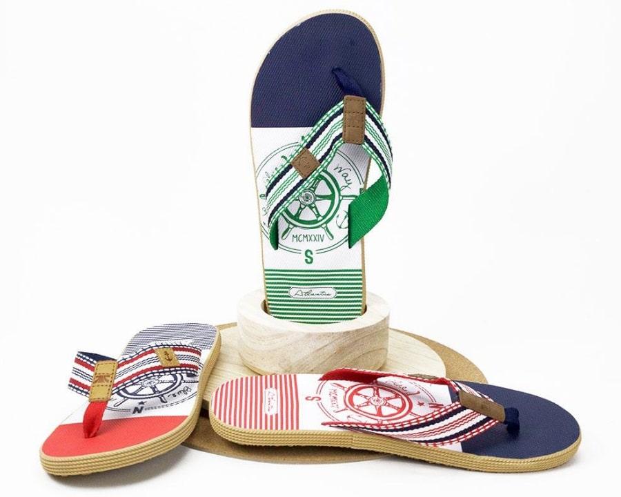 atlantis sustainable flip flops