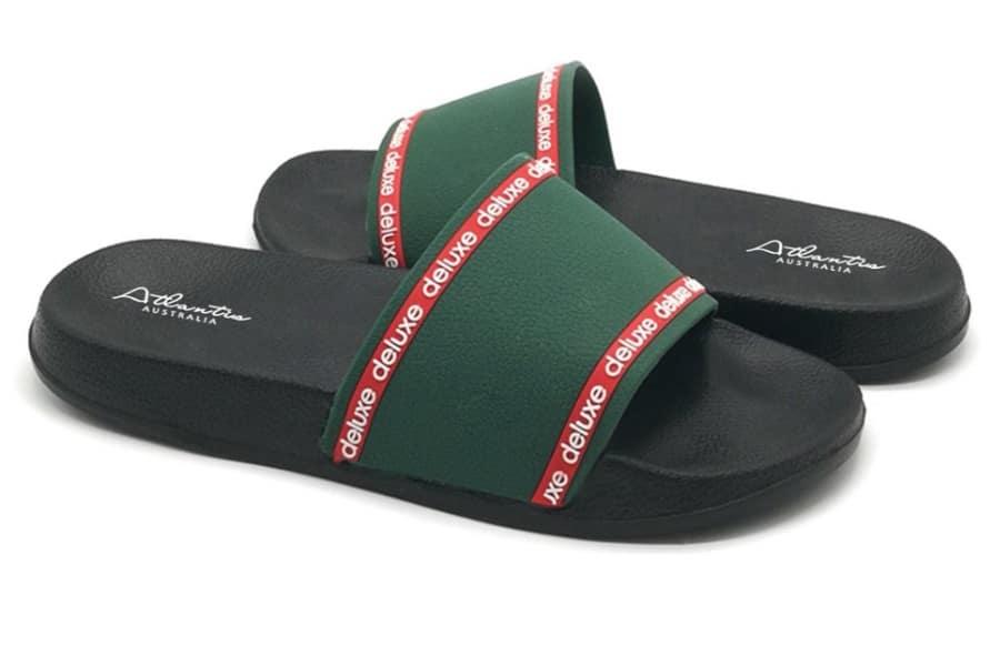 atlantis luxury flip flops blue