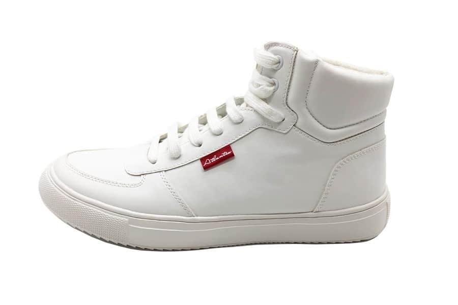 atlantis sustainable sneakers white