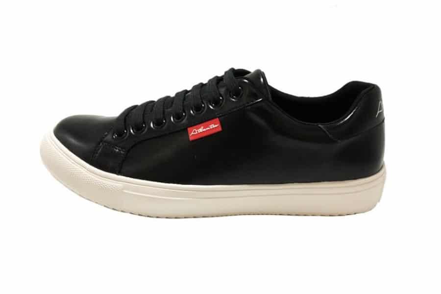 atlantis sustainable sneakers black