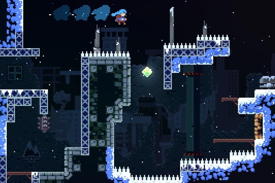 celeste game screenshot