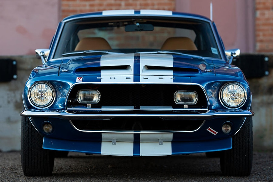 shelby gt front view