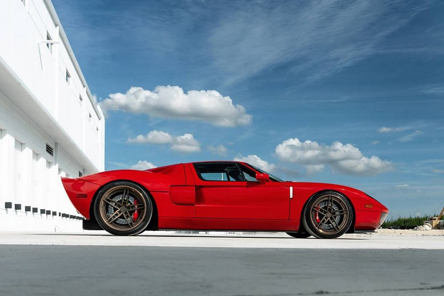 2000hp ford gt heffner side view