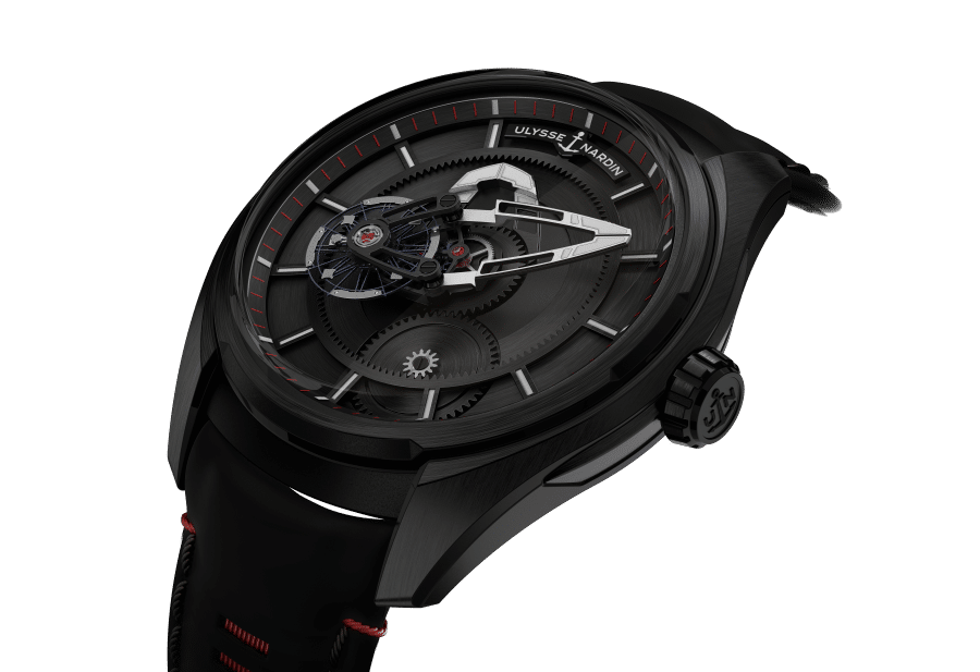 ulysse nardin freak x sub crown