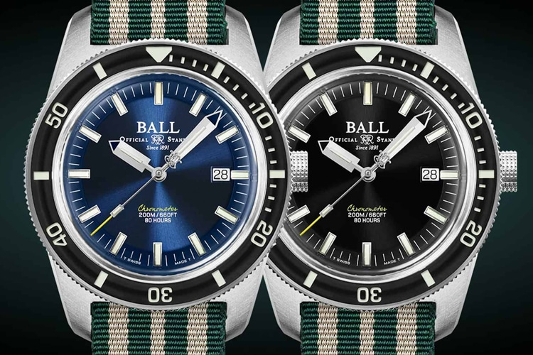 ball engineer ii skin diver limited edition