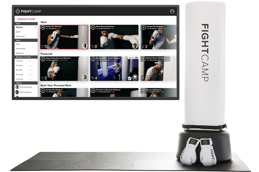 Home Boxing Studio with video