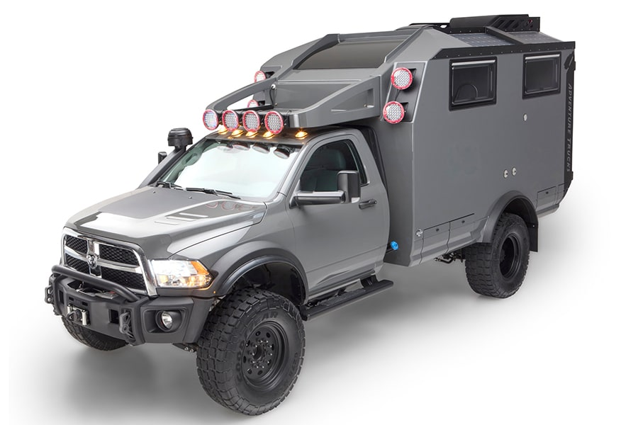 GEV Adventure Trucks Lets You Stay in the Wild