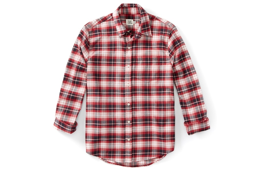 Flint and Tinder Flannel Button Down