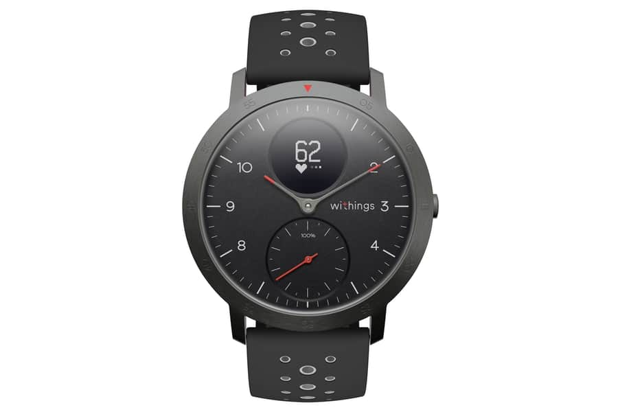 Withings Steel HR Sport + Leather Strap