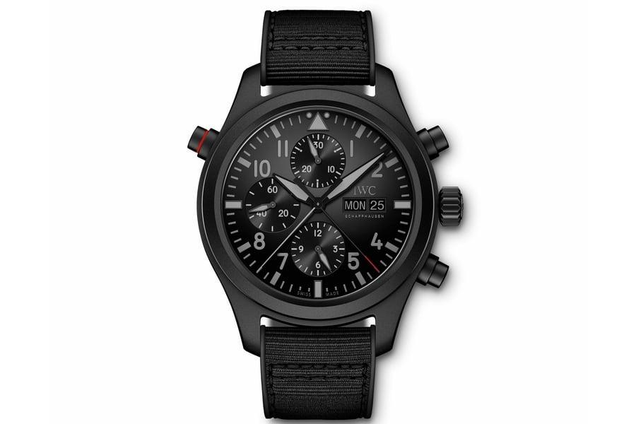 IWC-Pilots-Watch-Double-Chronograph-TOP-GUN-Ceratanium