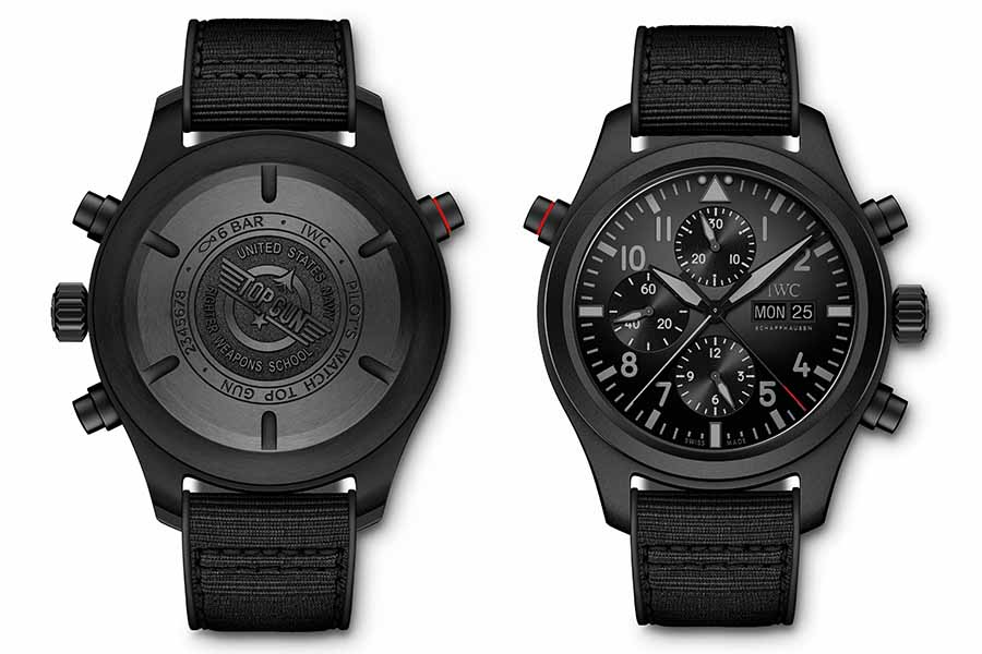 iwc showcases new pilot's watch