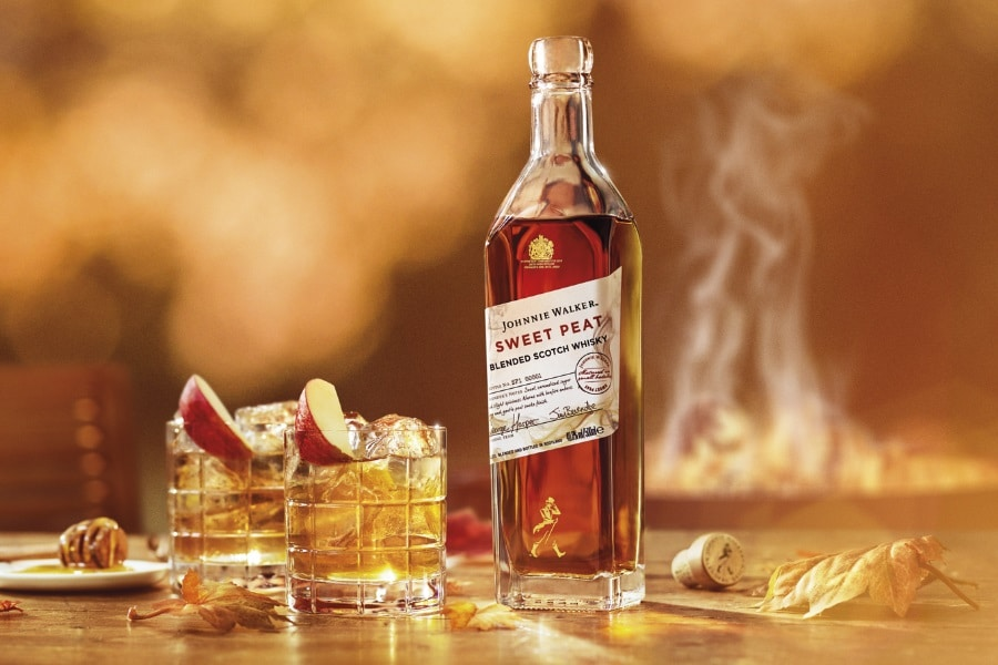 johnnie walker sweet peat whisky