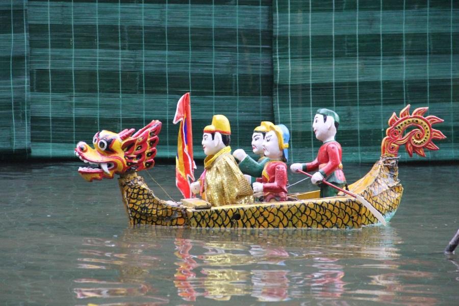 lotus water puppets vietnam