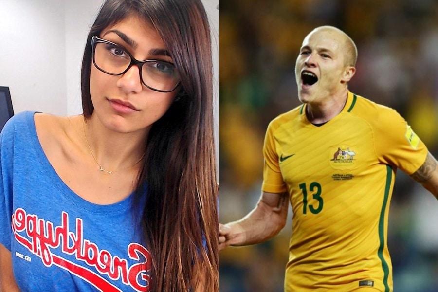 mia khalifa huge admirer aussie footballer aaron mooy