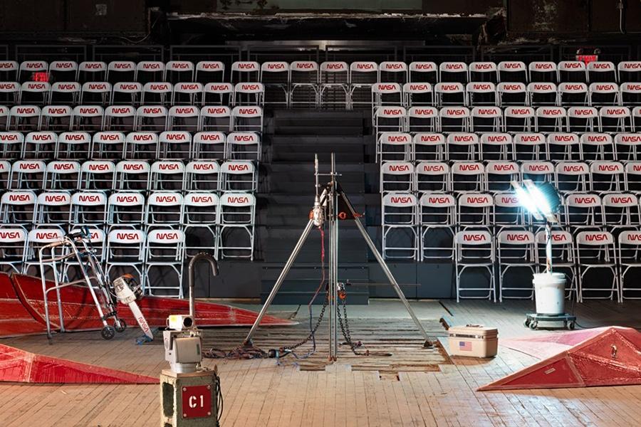 hundreds of nasa chair