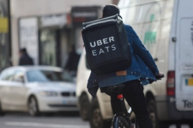 ubereats driver eating your food