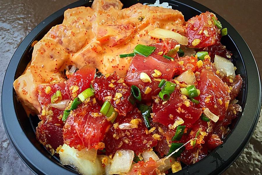 tamura's poke bowl