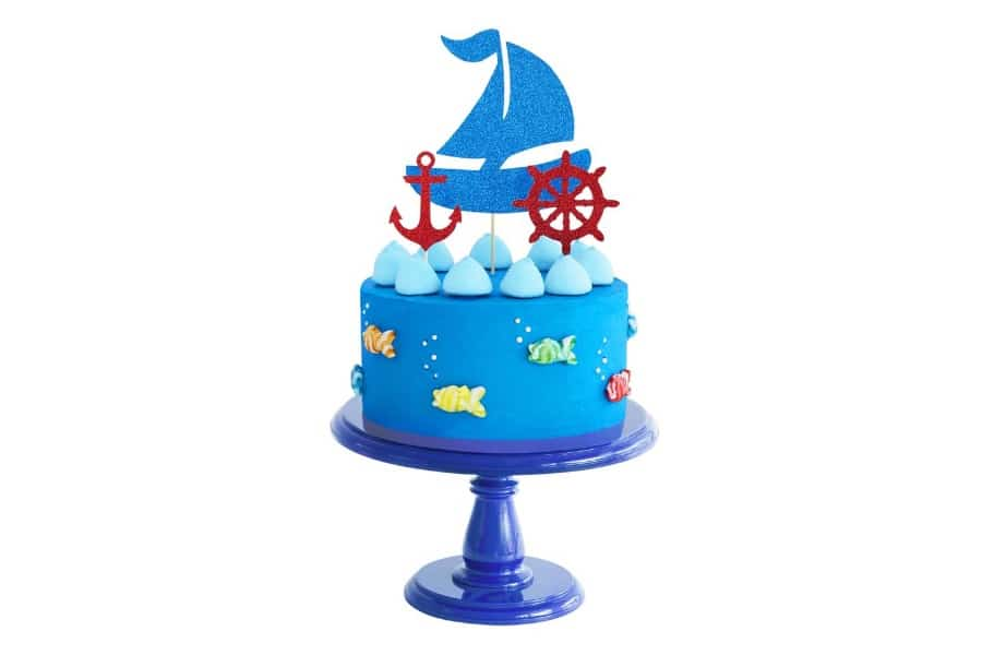 bake sailing boat birthday cake