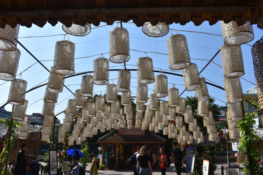 lanterns in hanoi