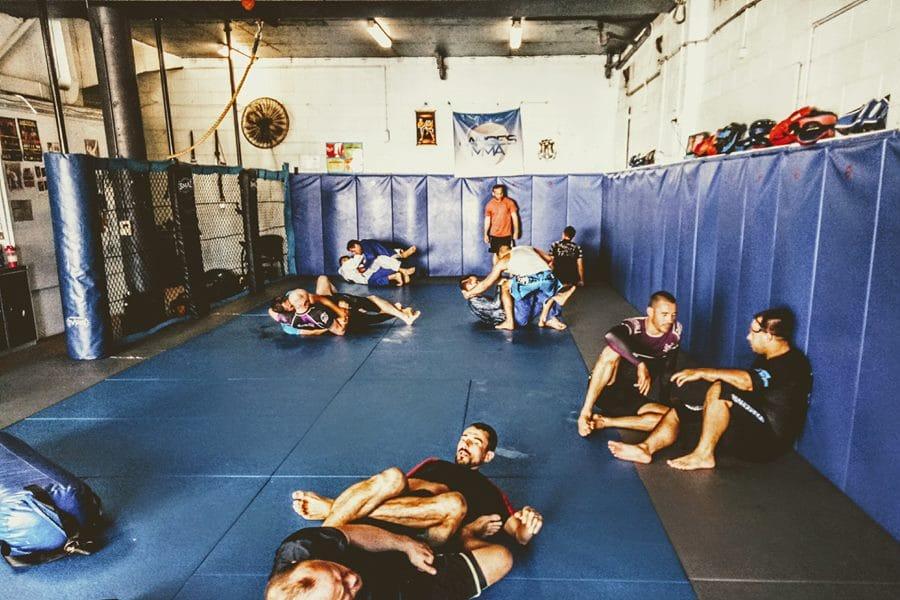 Pacheco gym studio floor