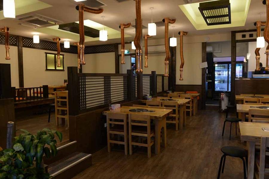 Jang Ta Bal restaurant interior