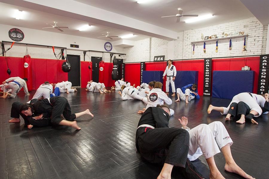 Carlson Gracie jiu jitsu studio