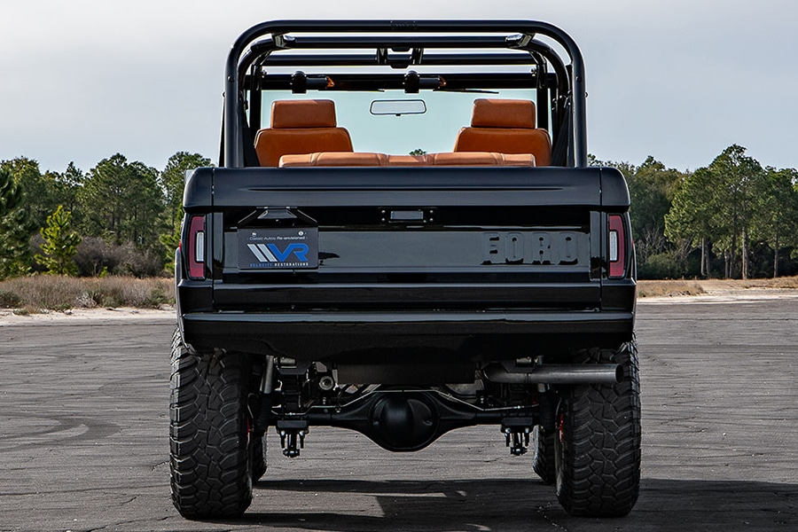 ford bronco back view